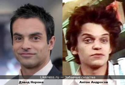 Дэвид Норона и Антон Андросов похожи