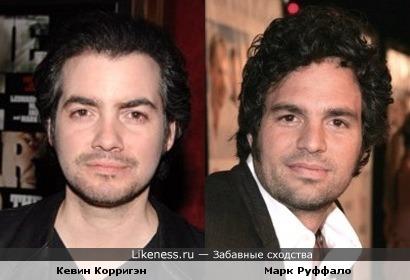 Кевин Корригэн похож на Марка Руффало