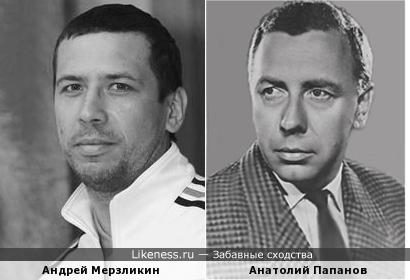 Андрей Мерзликин похож на Анатолия Папанова