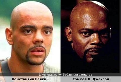 Константин Райкин в образе похож на Сэмюэля Л. Джексона