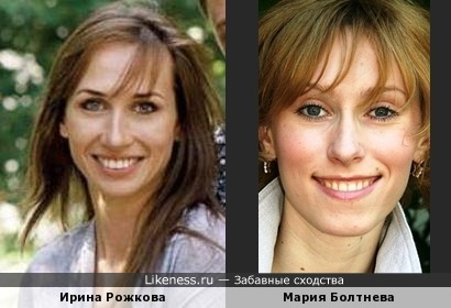 Реальная и экранная жены Дениса Рожкова похожи, как сестры