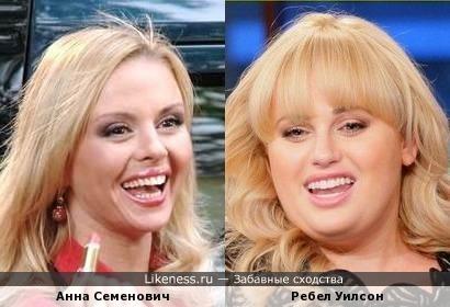 Анна Семенович могла бы выглядеть и так...