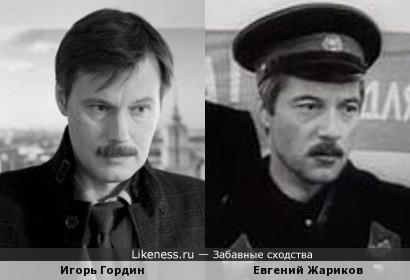 Игорь Гордин похож на Евгений Жариков