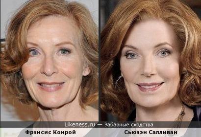 Фрэнсис Конрой похожа на маму Касла