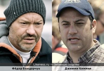 Фёдор Бондарчук и Джимми Киммел