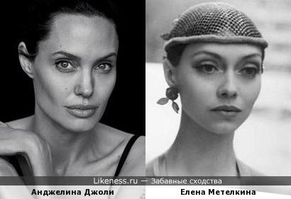 А ведь у нас была (и есть) своя Анджелина Джоли