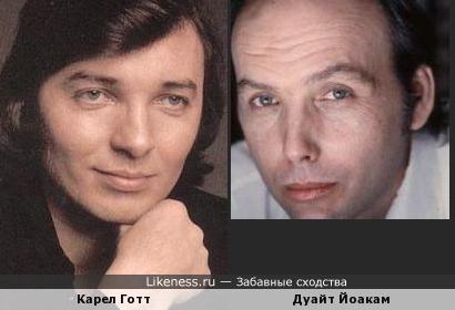Дуайт Йоакам похож на Карела Готта