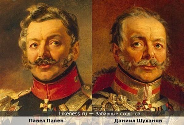 Два героя войны 1812 года