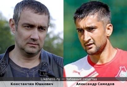 Актёр и футболист