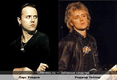 Барабанщик Ульрих похож на барабанщика Тейлора