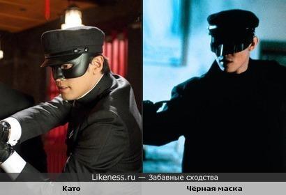 """Персонаж из фильма """"Зелёный шершень"""" похож на персонажа из фильма """"Чёрная маска"""""""