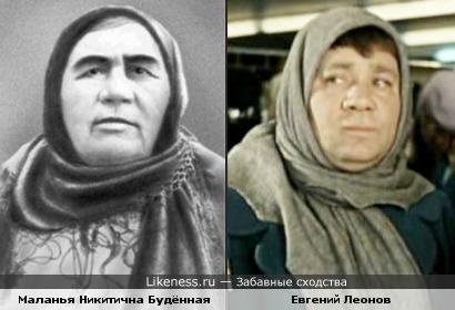 Леонов похож на маму Семёна Михайловича