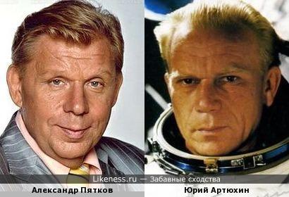 Александр Пятков и Юрий Артюхин (конкурс «Покорители космоса»)