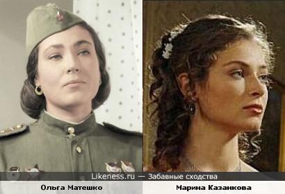 Ольга Матешко и Марина Казанкова