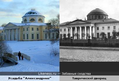 """Усадьба """"Александрино"""" и Таврический дворец"""