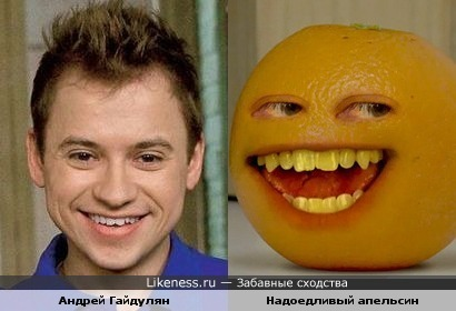 Саша Сергеев и Annoying Orange