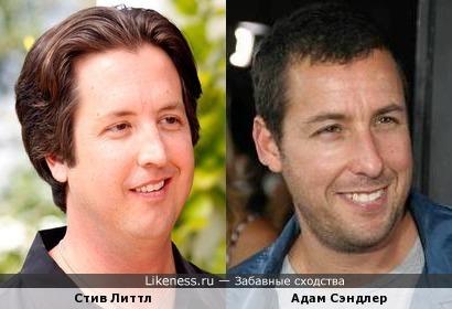 Стив Литтл похож на Адама Сэндлера