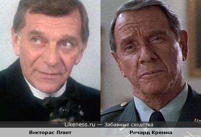 Актёры Викторас Плют и Ричард Кренна