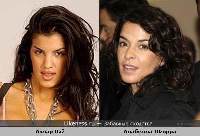Айлар Лай и Анабелла Шиорра