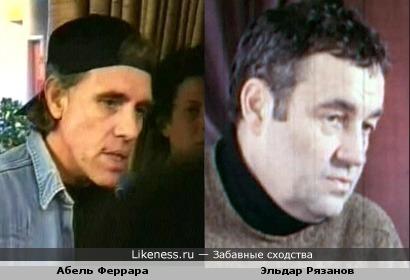 Режиссёр Абель Феррара выглядит здесь как исхудавший Эльдар Рязанов