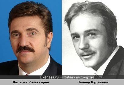 Валерий Комиссаров на этой фотографии почему-то напомнил Куравлёва