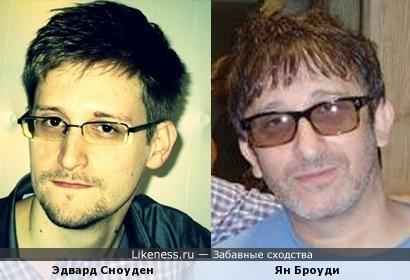 Эдвард Сноуден и Ян Броуди