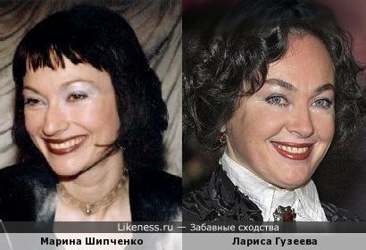 Марина Шипченко напомнила Ларису Гузееву