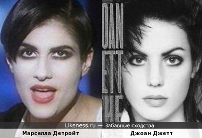 Марселла Детройт и Джоанн Джетт