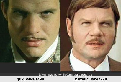 Дик Валентайн напомнил Михаила Пуговкина