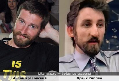 Антон Красовский напоминает Франка Риппло