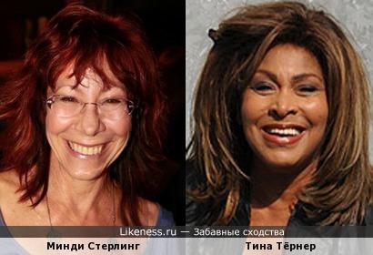 Минди Стерлинг напомнила Тину Тёрнер