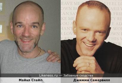 Майкл Стайп и Джимми Самервилл