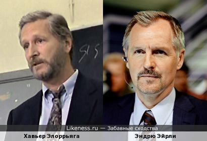 Хавьер Элоррьяга и Эндрю Эйрли