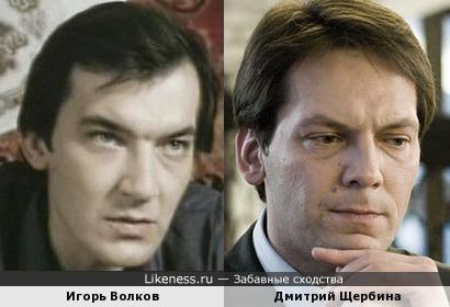 Игорь Волков и Дмитрий Щербина