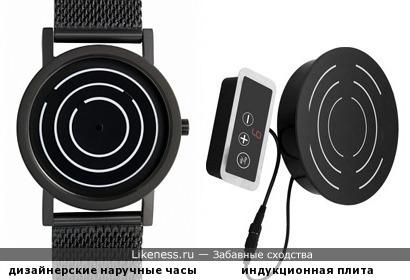 Дизайнерские часы от Project Watches напоминают встраиваемую идукционную плиту