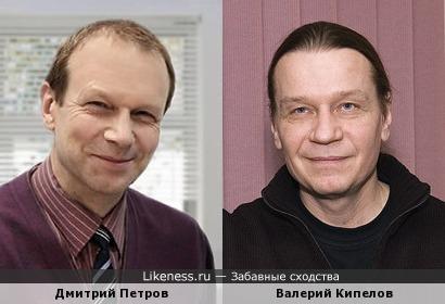 Дмитрий Петров и Валерий Кипелов