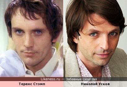 Теренс Стэмп и Николай Усков