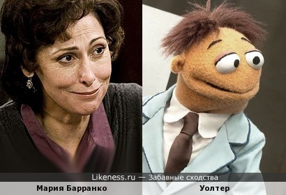Мария Барранко и маппет