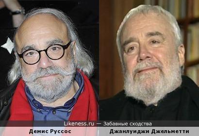 Демис Руссос и Джанлуиджи Джельметти