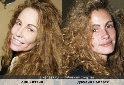 Тони Китэйн и Джулия Робертс