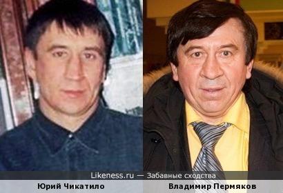 Юрий Чикатило похож на Владимира Пермякова