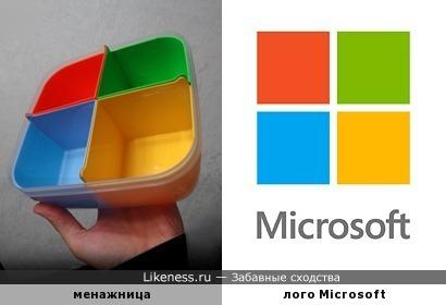 Менажница Microsoft