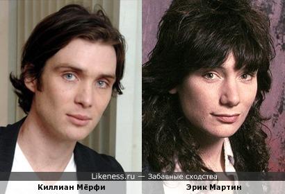 Киллиан Мёрфи и Эрик Мартин