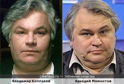 Владимир Коппалов и Аркадий Мамонтов