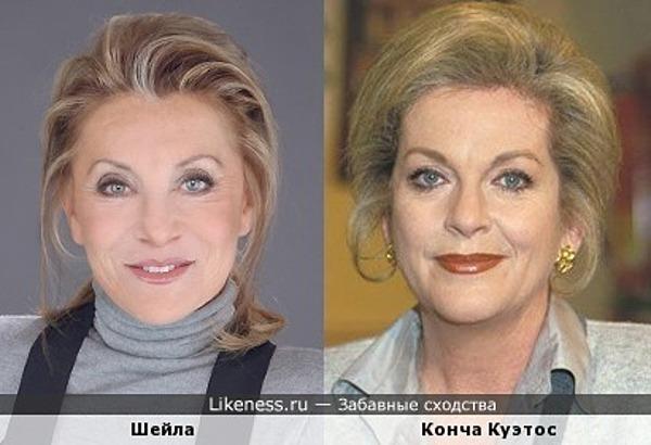 Шейла и Конча Куэтос