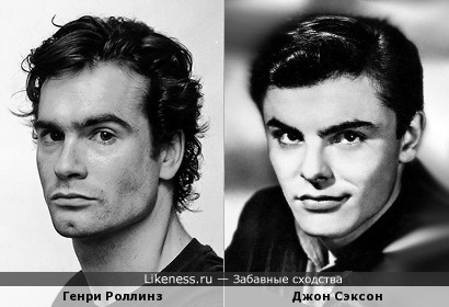 Генри Роллинз и Джон Сэксон