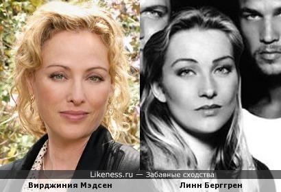 Вирджиния Мэдсен и Линн Берггрен