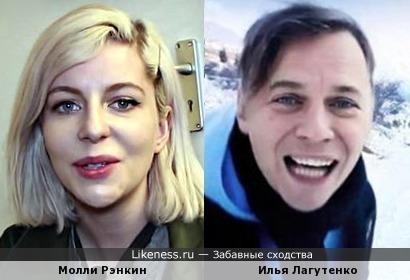 Новая канадская 'Blondie' напомнила Илью Лагутенко