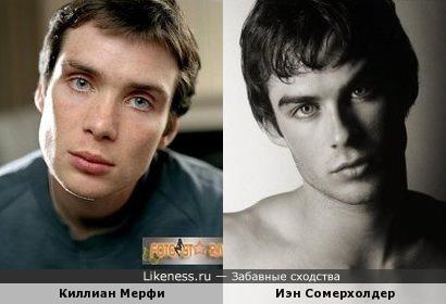 Киллиан Мёрфи и Йен Сомерхолдер