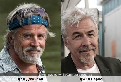 Дон Джонсон - Джим Бёрнс